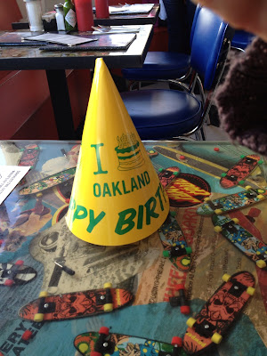 Oakland 160th Birthday Hat, Rudy's Can't Fail Cafe