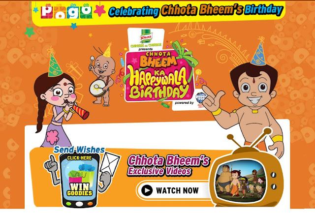 "Pogo's ""Chhota Bheem"" Story Wiki|Charectors|Title Song|Celebrate Bheem Birhday"