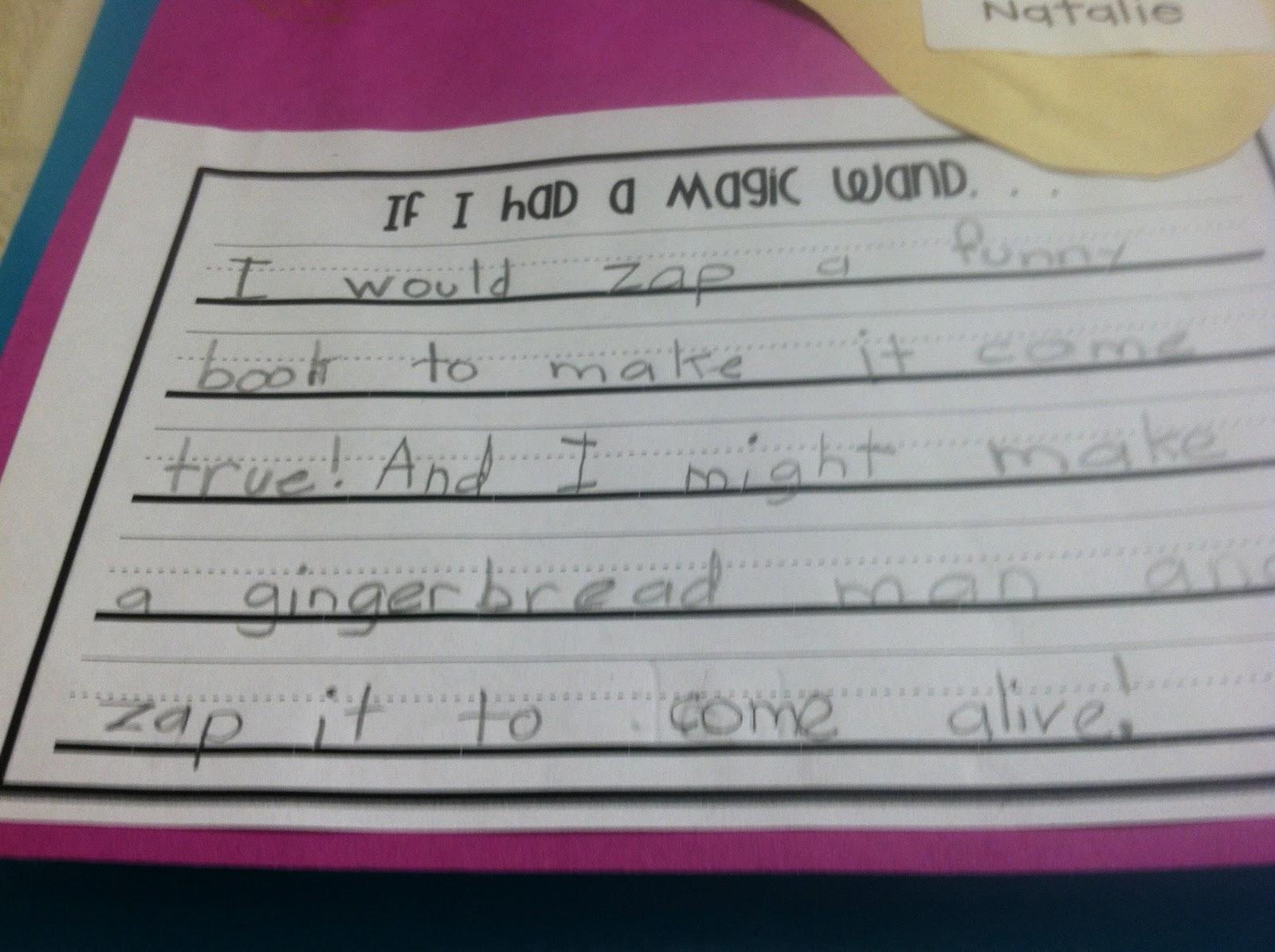 If i had a magic pencil essay