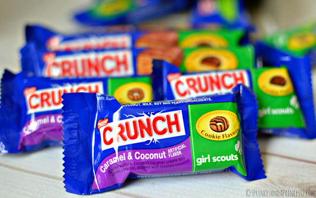 Nestles Girl Scout Cookie Inspired Candy #GSCrunch #Shop