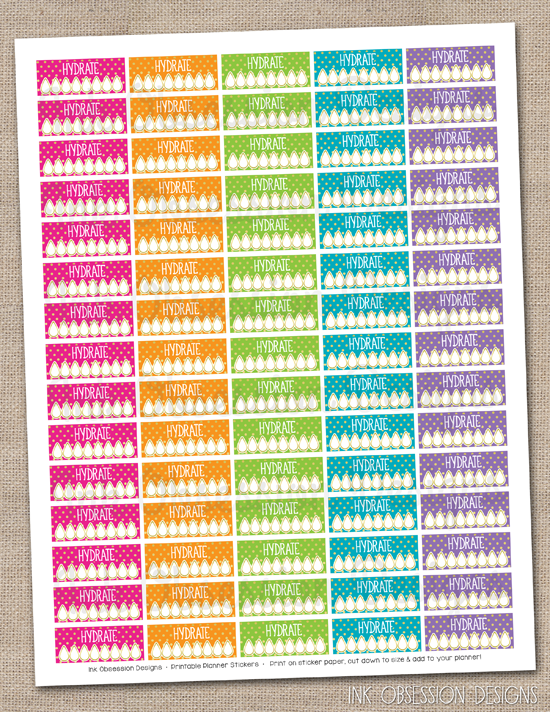 Crafty image in free printable planner stickers pdf