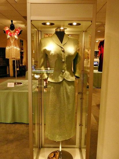Debbie Reynolds costume exhibit Marilyn Monroe dress by Lady by Choice