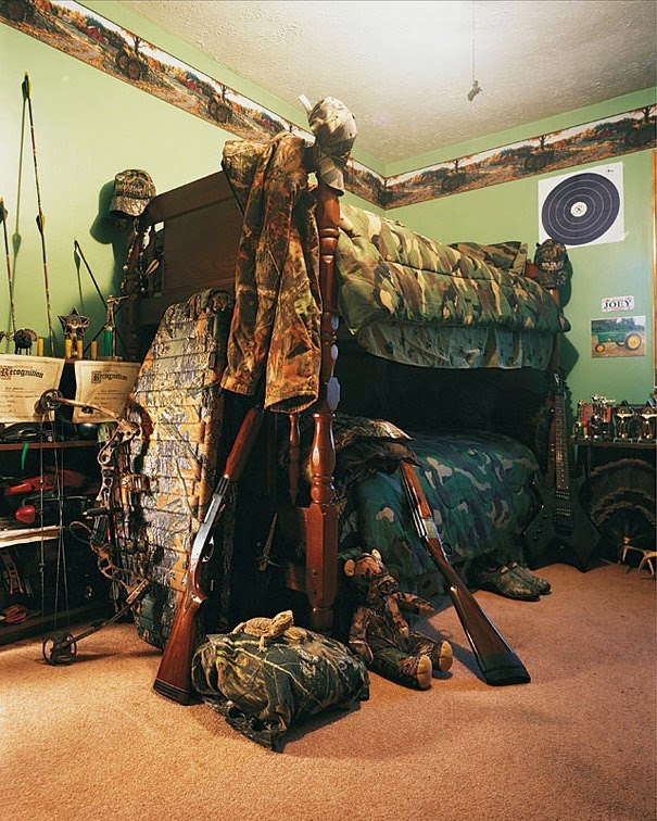 16 Children & Their Bedrooms From Around the World - Joey, 11, Kentucky, USA - Joey's Bed