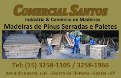 COMERCIAL SANTOS INDÚSTRIA E COMÉRCIO DE MADEIRAS EM GUAREÍ SP