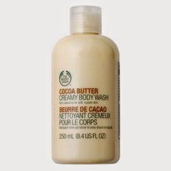 [The Body Shop] Crème de douche *Beurre de cacao*