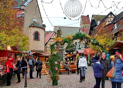 Eguisheim christmas market