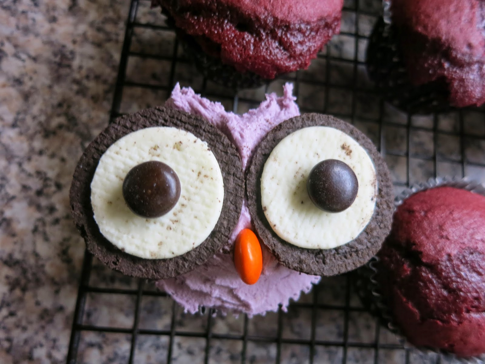 Learn with Play at Home Fun Food How to make Oreo Owl Cupcakes