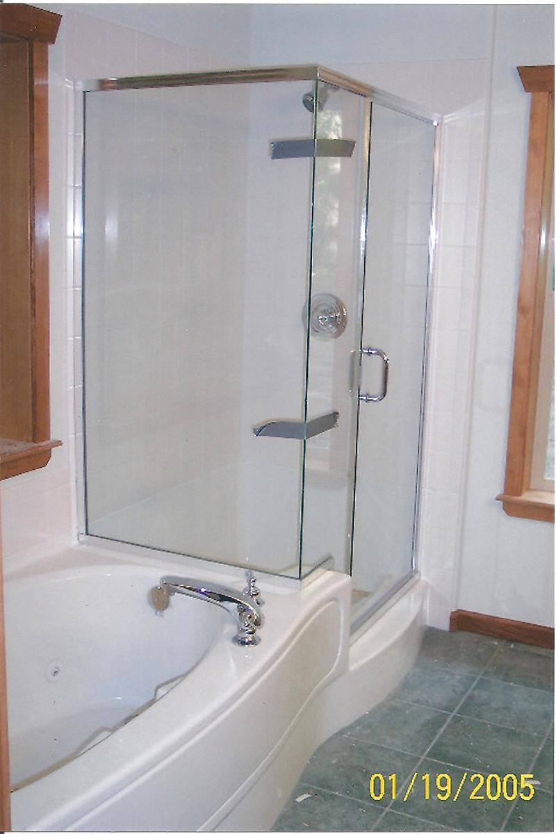 Welcome to Concept Construction, Inc. : Shower and Tub Combo