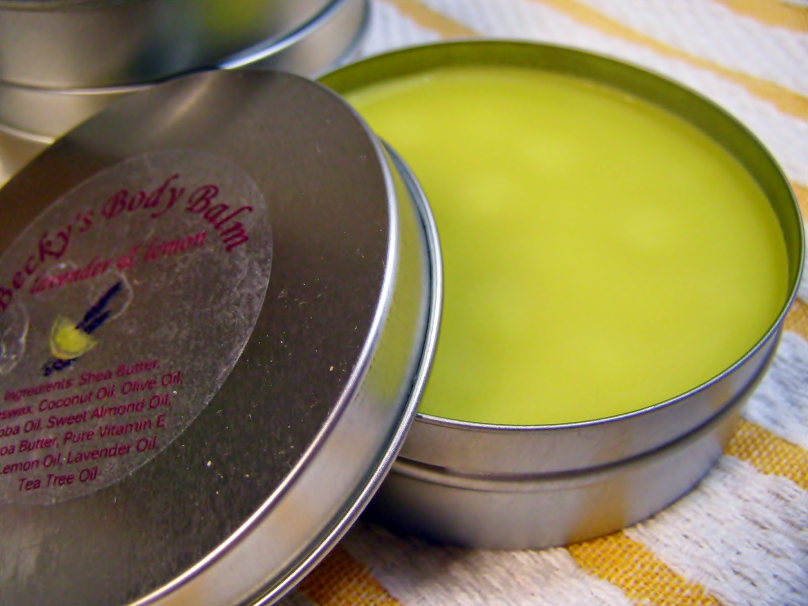 Natural, soothing body balm