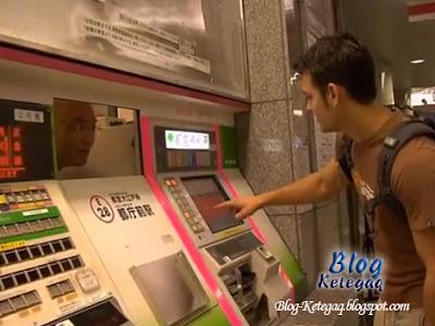 Mesin yang benar-benar mesra pengguna di Jepun