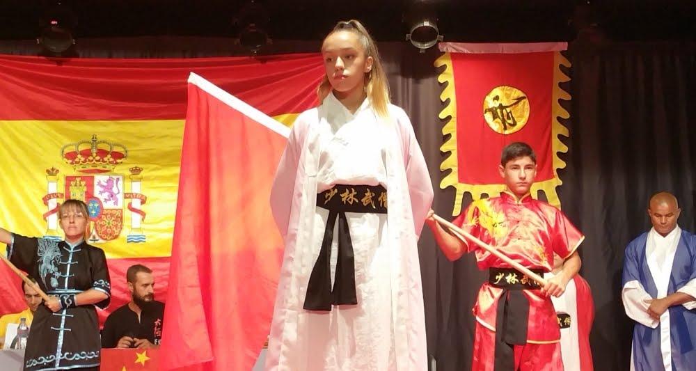Shaolin España . Examen Grado CINTURÓN NEGRO 1º DAN Mirian Garcia -  Kung-Fu.