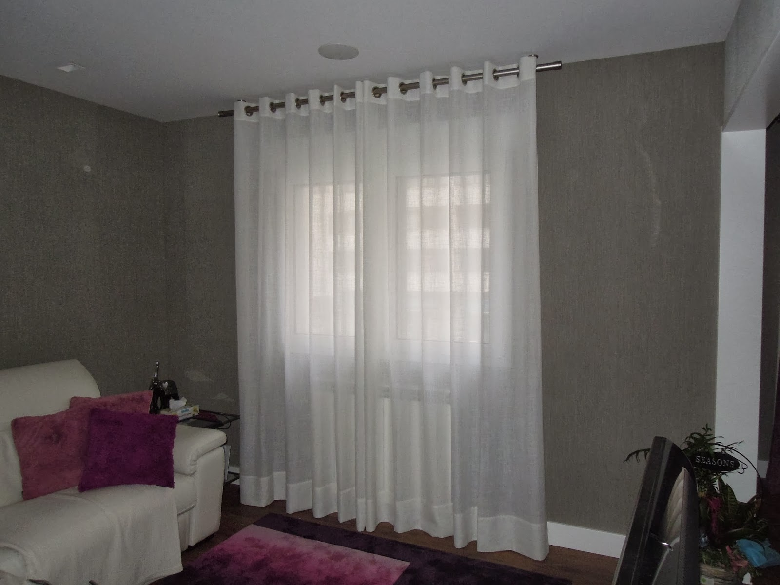 fotos de cortinas salones 2014