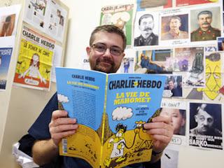 Majalah Charlie Hebdo Terbitkan Kartun Muhammad