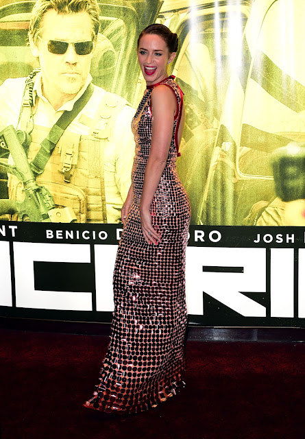 Actress @ Emily Blunt - London premiere for 'Sicario'