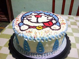 Gambar Kue Ulang Tahun Doraemon