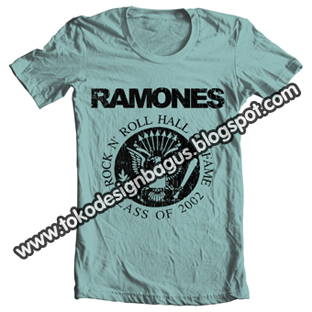 distro- logo Ramones desain kaos desain t-shirt desain baju