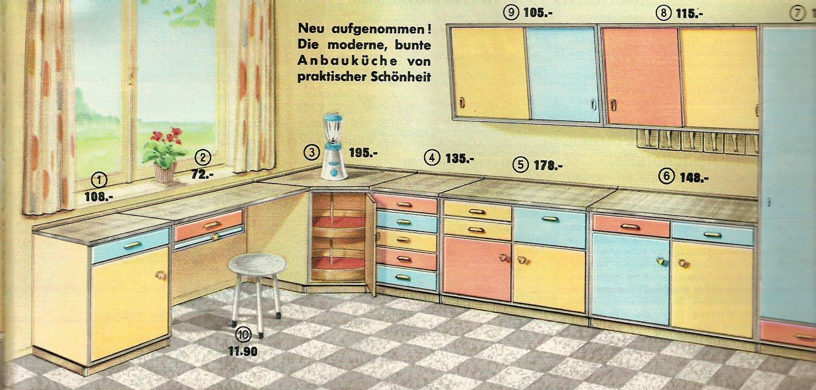 diepuppenstubensammlerin 50er k che bodo hennig 50s. Black Bedroom Furniture Sets. Home Design Ideas