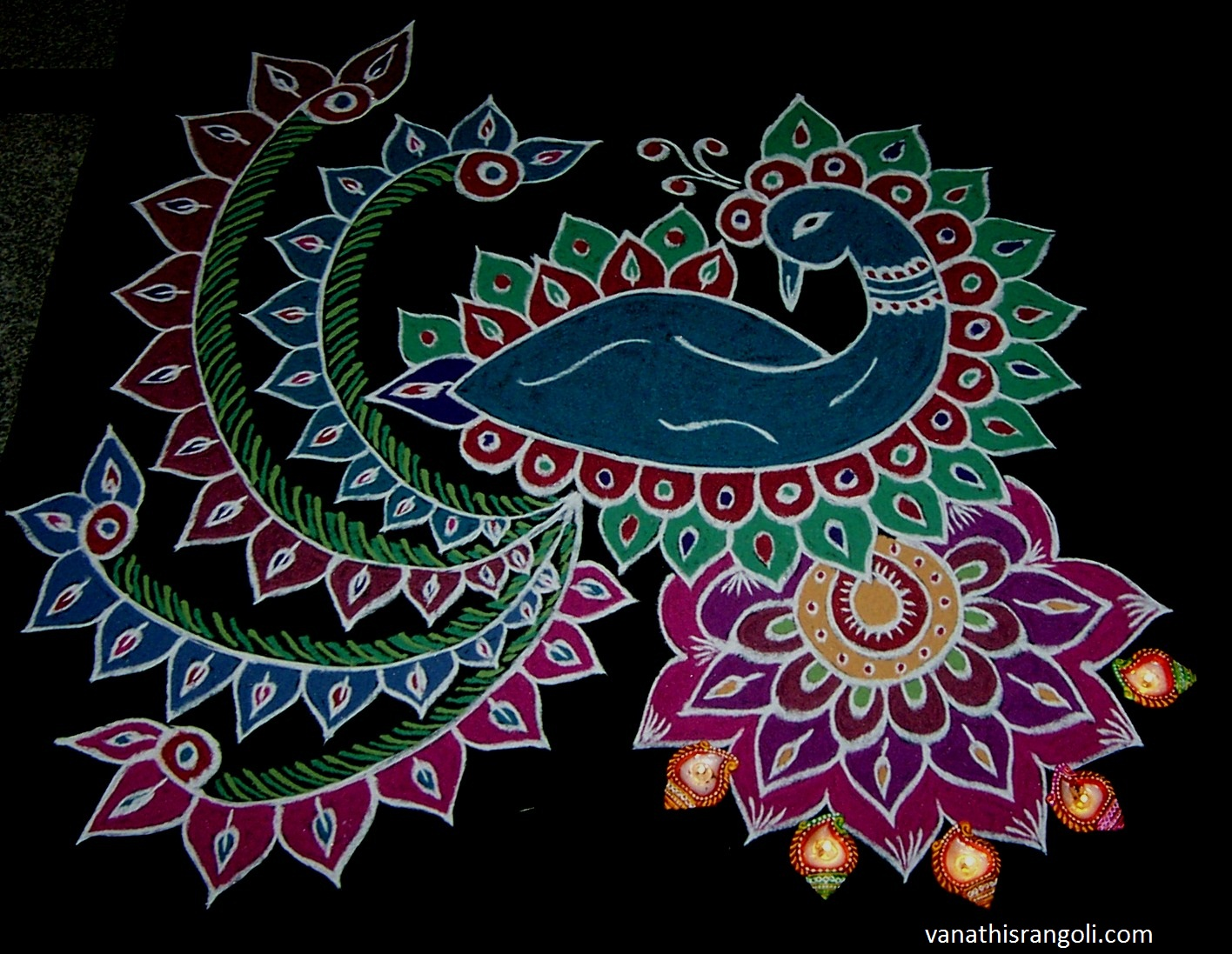 colourful flower designs drawings wwwimgkidcom the