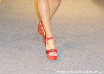 Lady Stork primavera verano 2014 moda zapatos.