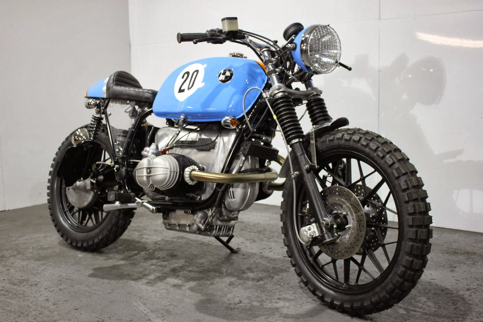 bmw r100 rs street scrambler le man motor fuel. Black Bedroom Furniture Sets. Home Design Ideas