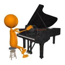 Practica con el piano