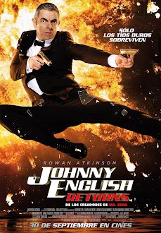 Johnny English Returns DVD FULL