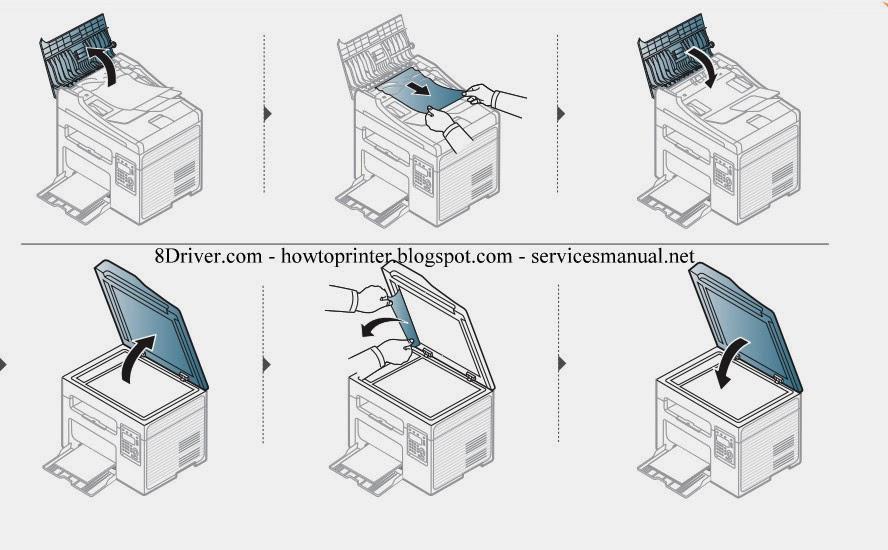 Scx samsung 3405w сканера драйвер