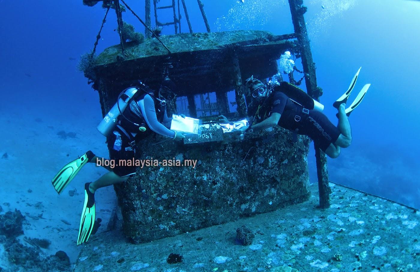Underwater Post Office Mataking Island