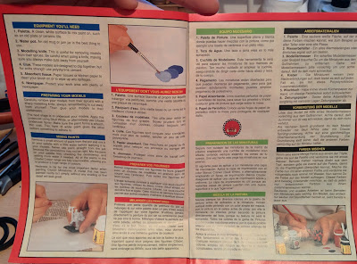 Citadel Colour Paint Set 1994 - Guide 1st Page