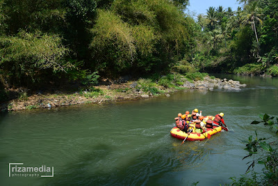 Arum Jeram Rafting Sungai Elo Magelang