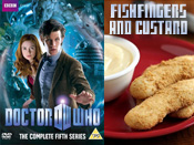 Doctor Who - Fishfingers and Custard
