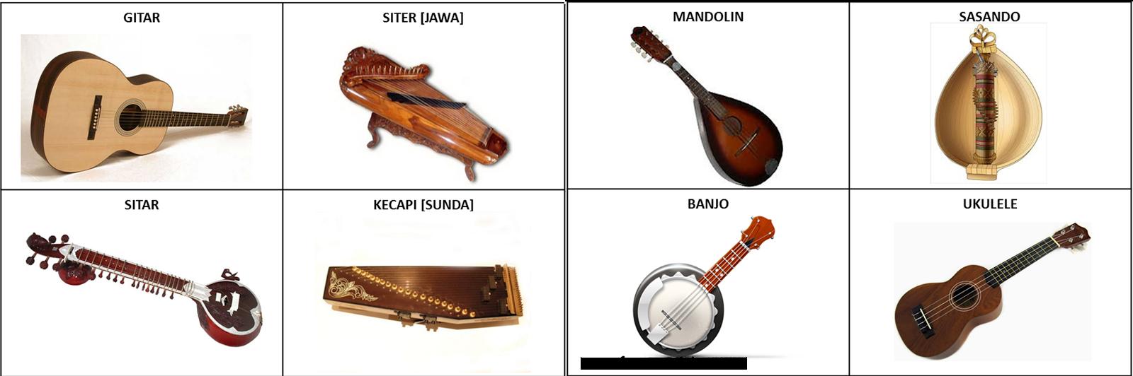 Alat Musik Dipetik Tradisional
