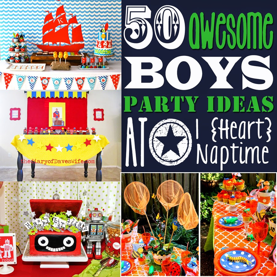 50 awesome boys party ideas diy craft projects