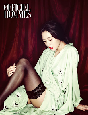 Clara - L'Officiel Hommes Magazine September Issue 2013