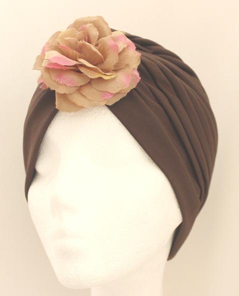 Colección La Playa - Turbante Rosa Flor