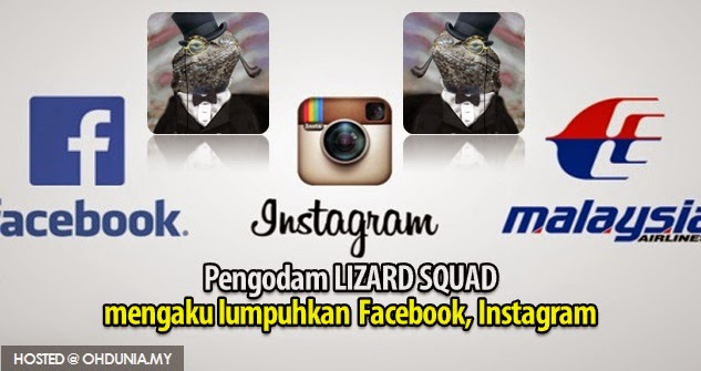 Pengodam Lizard Squad mengaku lumpuhkan Facebook, Instagram