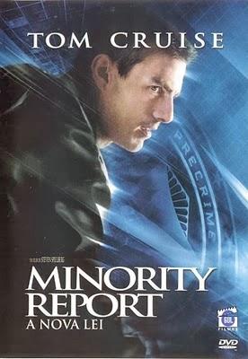 Filme Minority Report A Nova Lei Dublado AVI DVDRip