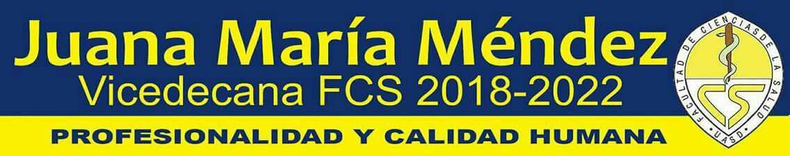 JUANA MARÍA MENDEZ Vicedecana FCS 2022
