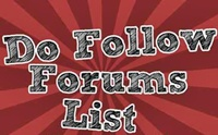 Top 20 DoFollow Forums