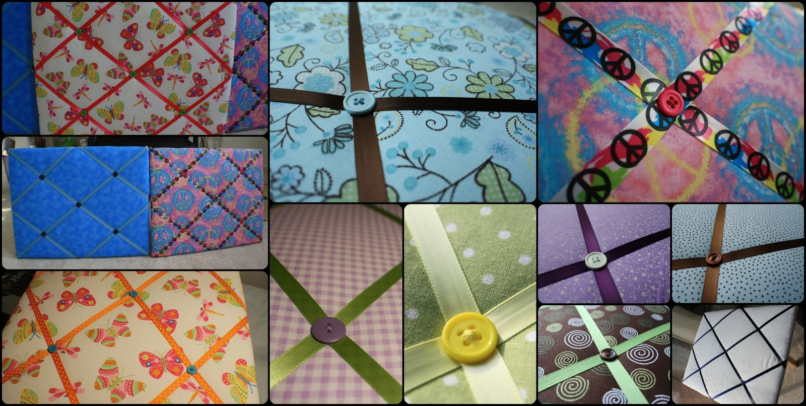 simply diy making a memory board these are pretty simple to make i think sewing on the buttons takes the most time now that you know how to make one you can any fabric to match any