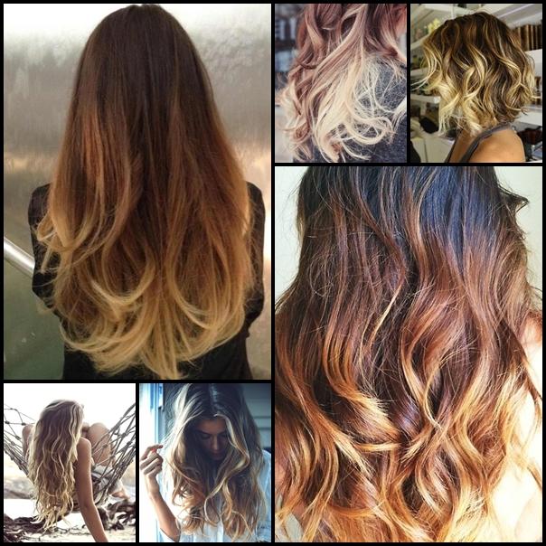 Покраска волос амбре картинки - e