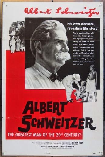 Albert Schweitzer 1957