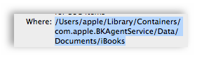 how to show hidden library folder on mac