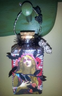 Moonlight Journey Witch Bottle