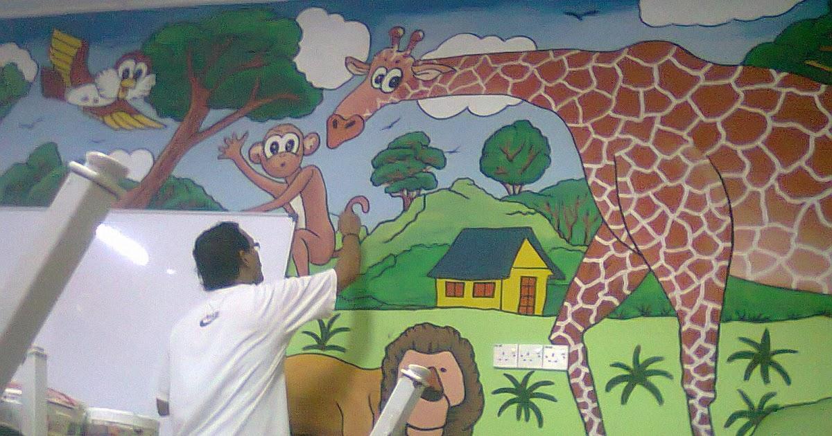 Pelukis mural shah alam taman binatang for Mural hidupan laut