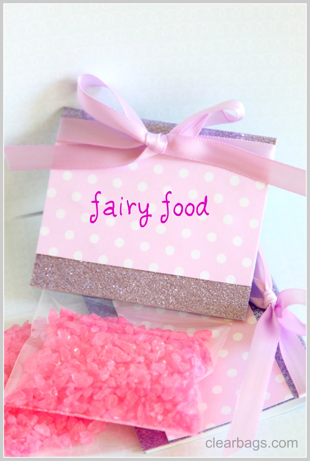 Fairy Food Party Favors | ClearBags