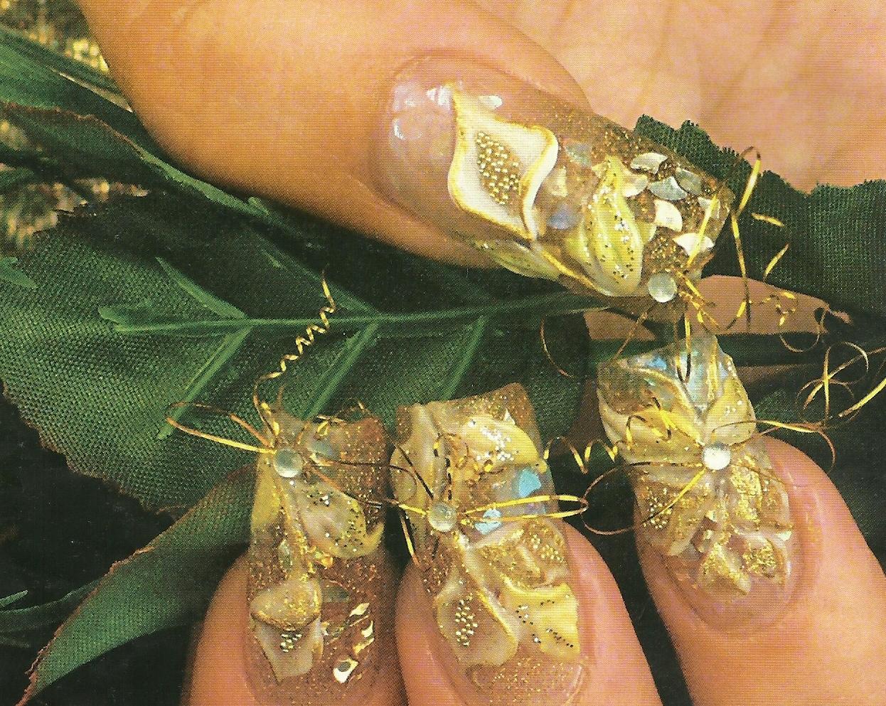 Decoración de uñas con Swarovski (cristales o piedras) 2014 - 2015 ...