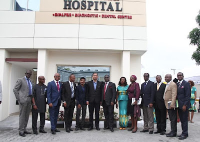 pic of Redeemed Church commissions Dialysis centre and Dental unit in Lagos.