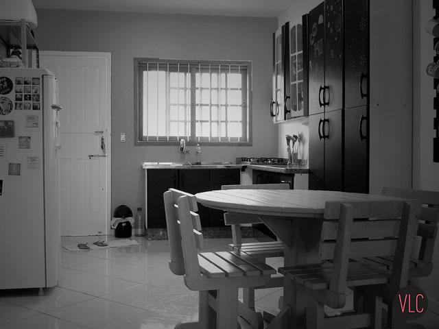 minha cozinha recentemente