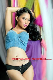 Muthya Rahmani for Popular World February 2013